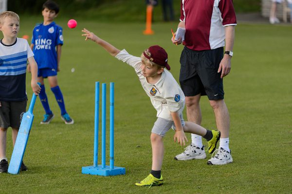 junior cricket bowler