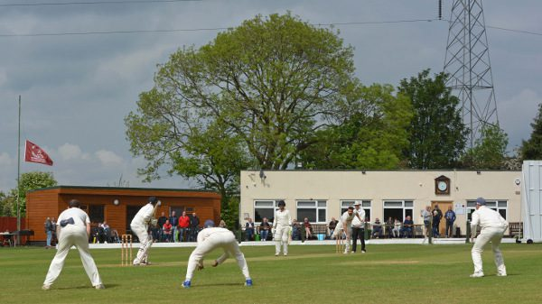 Woodhouses and Burnley contest a first round tie in the 2019 Lancashire Cricket Foundation Knockout Cup