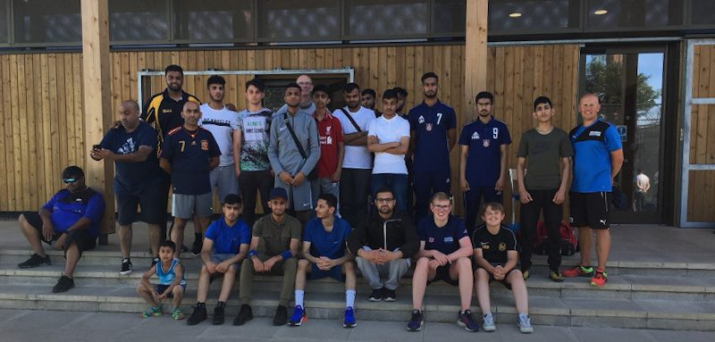 Yorkshire deaf-cricketers at Park Avenue