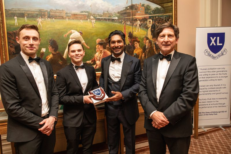 Cricket Yorkshire - Forty Club Dinner