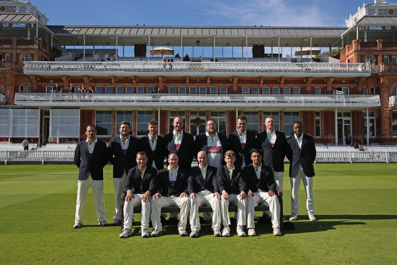 National Village Cup: houghton main cricket squad