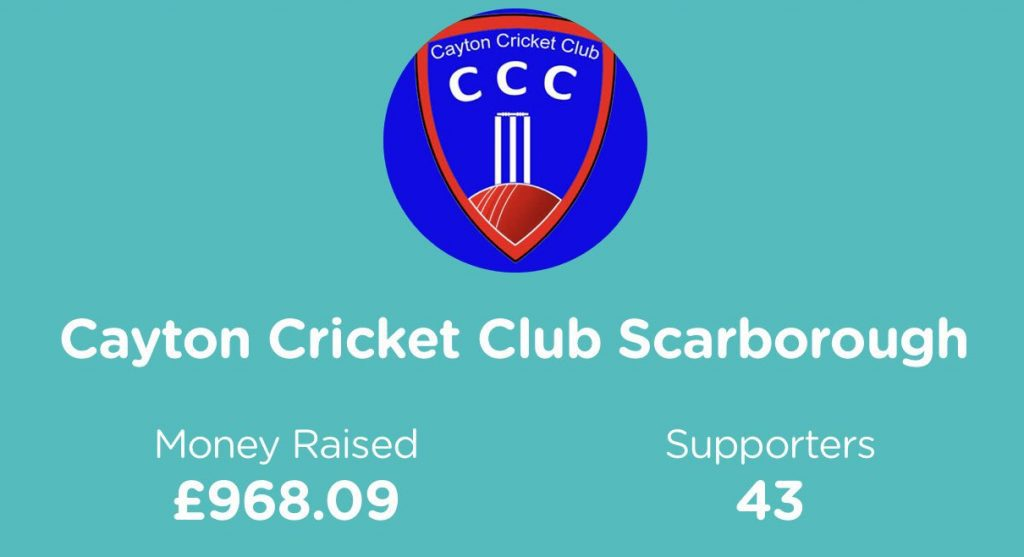 How to fundraise Cayton cricket club