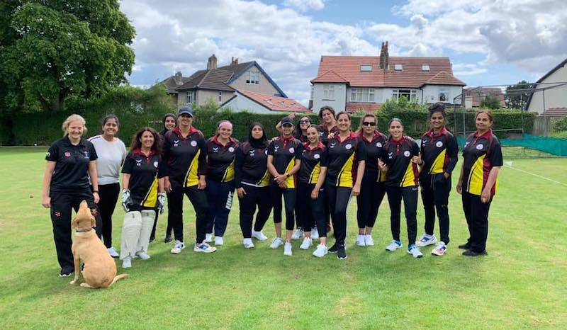 Bradford Park Avenue Ladies Cricket team